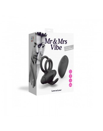 Cocking Vibrant Mr et Mrs Vibe - Noir