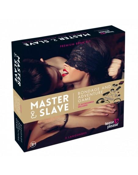 Master et Slave Premium - KIT BDSM