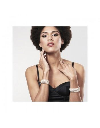 Plaisir Nacre - Menottes Bracelets - Blanc