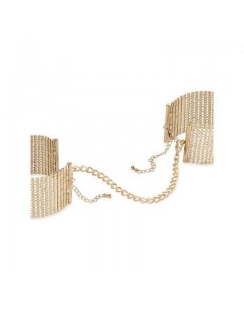 Désir Métallique - Menottes Bracelets - Or